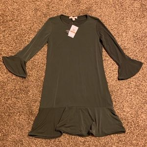 Michael Kors olive dress! New with tags!